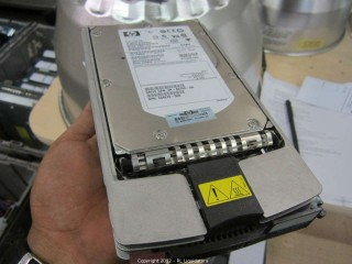 HP Wide Ultra 320  36.5 GB HD