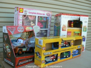 Assorted Kids Toys Retail Value $438.04