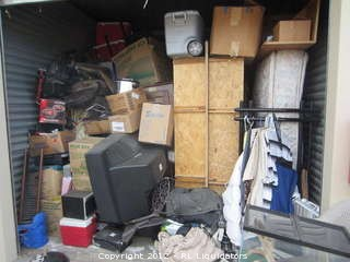 10 x 10 Storage Unit Contents
