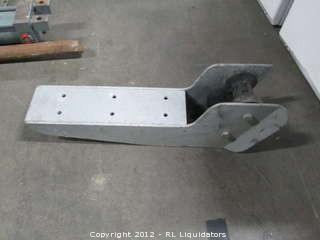 Metal Brace with Roller - Possible Anchor Chain Roller & Guide