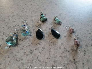 4-Sets of Earrings