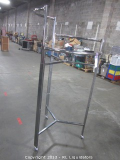 Adjustable Height Halo Rack