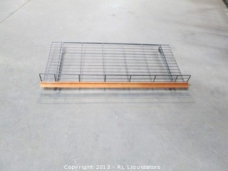 Lot of 8 Bakery Display Shelves - No Stand - Shelves Only