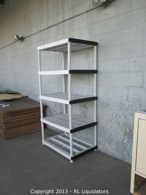 Storage Shelving and Retail Fixture Auction