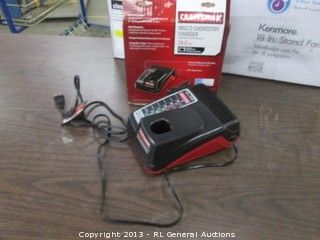 Craftsman charger & Maintainer/ Multi-Chemistry Charger 10.2 volt